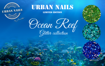Ocean Reef glitter collection