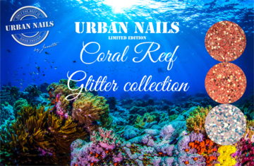 Coral Reef glitter collection