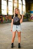 Nailstuff T-Shirt Turtle Nek Zwart