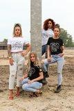 Nailstuff T-Shirt Ronde Hals Zwart