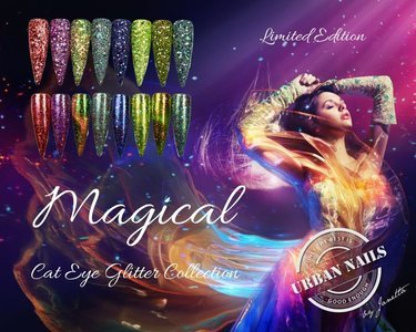 Magical Cat Eye Glitter Collectie