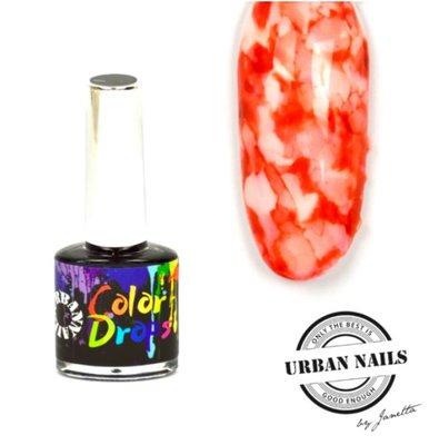 Color Drops 01 Rood