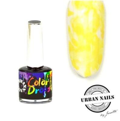 Color Drops 03 Geel