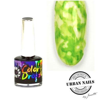Color Drops 04 Groen