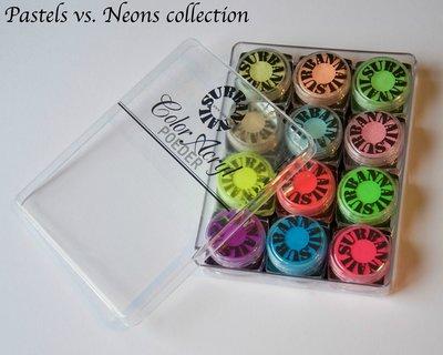 Acryl Collectie Pastels en Neons