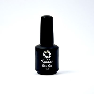Rubber Base Gel  Clear15ML