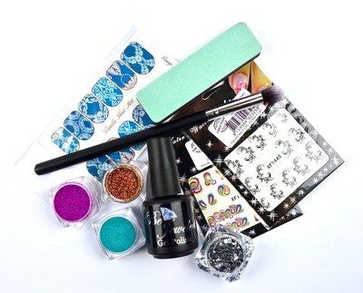 Urban Nails Gelpolish & Glitter Pakket 2