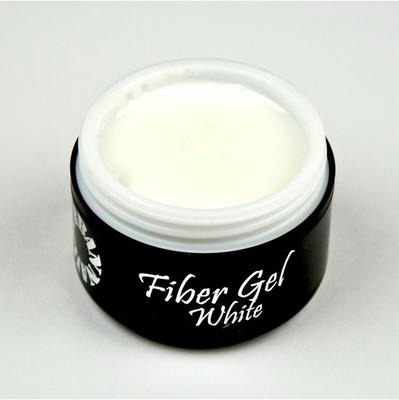 Fiber Gel White 15ML Pot