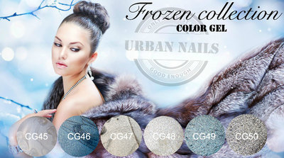 COLOR GEL COLLECTIE FROZEN