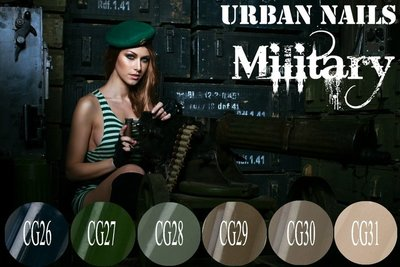 COLOR GEL COLLECTIE MILITARY