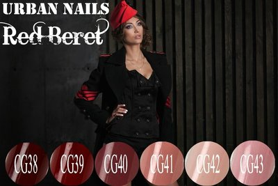 COLOR GEL COLLECTIE RED BERET