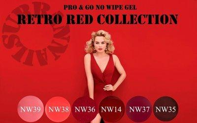 PRO & GO 'RETRO RED' COLLECTIE