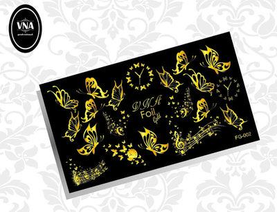 Foil Gold Slider FG-002