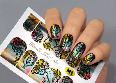 Vanilla Nail Art Slider M005