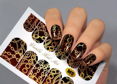 Vanilla Nail Art Slider M008