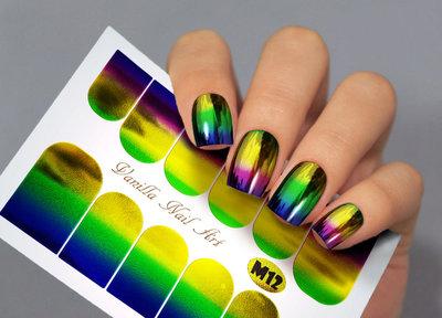 Vanilla Nail Art Slider M012