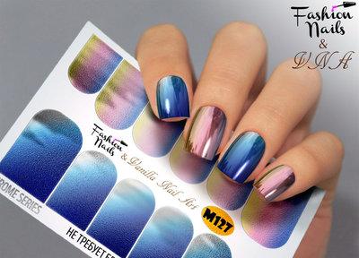 Vanilla Nail Art Slider M127
