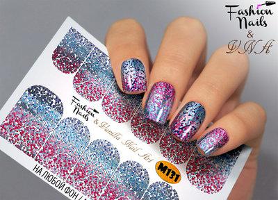 Vanilla Nail Art Slider M131