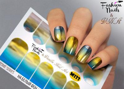 Vanilla Nail Art Slider M133