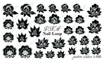 Vanilla Nail Art Loop L-005