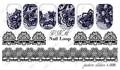 Vanilla Nail Art Loop L-006