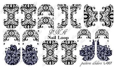 Vanilla Nail Art Loop L-007