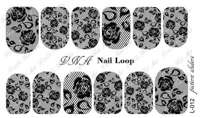 Vanilla Nail Art Loop L-012