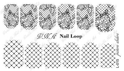 Vanilla Nail Art Loop L-015