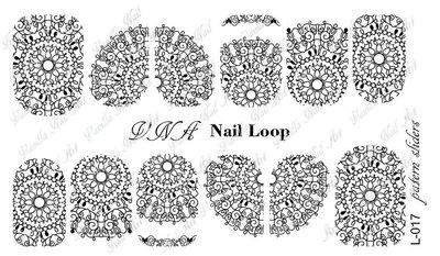 Vanilla Nail Art Loop L-017