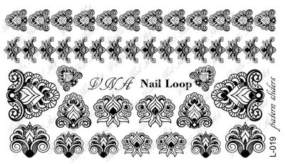 Vanilla Nail Art Loop L-019