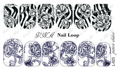 Vanilla Nail Art Loop L-023