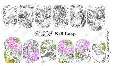 Vanilla Nail Art Loop L-024