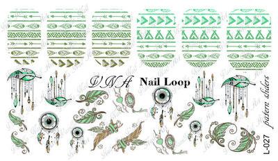 Vanilla Nail Art Loop L-027