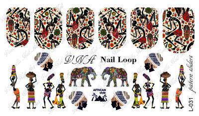Vanilla Nail Art Loop L-031