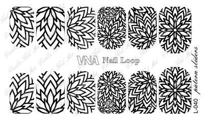 Vanilla Nail Art Loop L-040