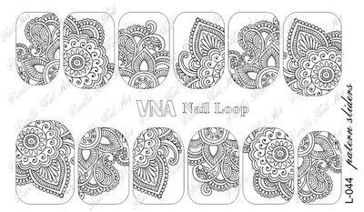 Vanilla Nail Art Loop L-044