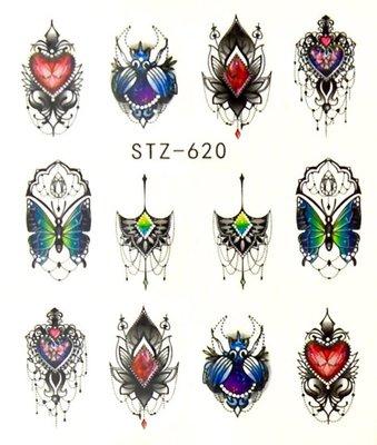 Water Decal Sticker STZ620