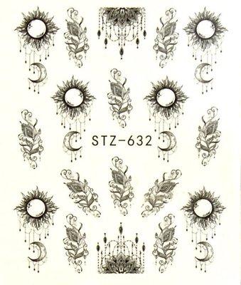 Water Decal Sticker STZ632
