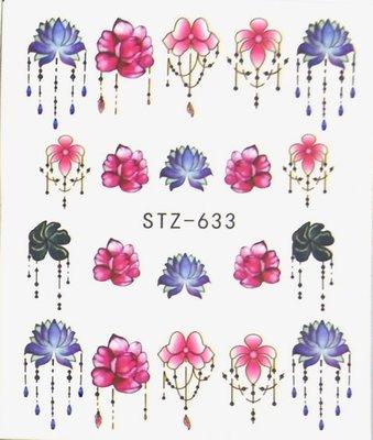 Water Decal Sticker STZ633
