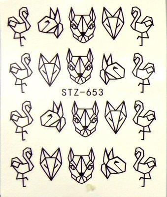 Water Decal Sticker STZ653