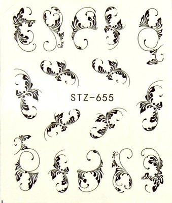 Water Decal Sticker STZ655