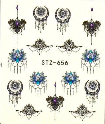 Water Decal Sticker STZ656