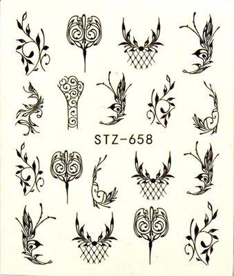 Water Decal Sticker STZ658