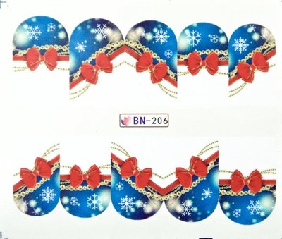 Water Decal Sticker BN-206