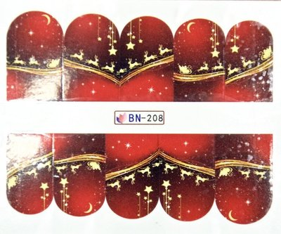 Water Decal Sticker BN-208