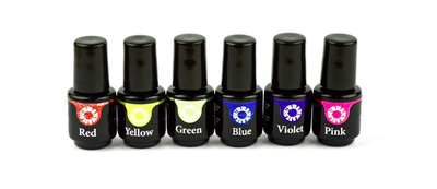 Collectie Gekleurde Top Gel 6x4.5ml