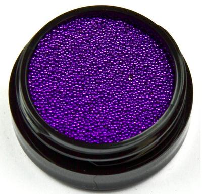 Caviar Beads CB14 Donker Paars