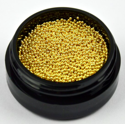 CAVIAR BEADS GOUD 0,8MM MIDDEL