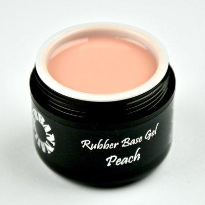 Rubber Base Gel Peach 15G Pot