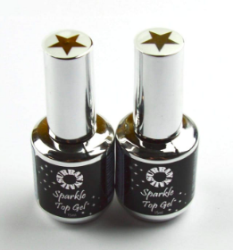 SPARKLE TOP GEL GOUD&ZILVER 15ml